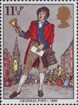 Death Centenary of Sir Rowland Hill (postal reformer) 11.5p Stamp (1979) General Post, c 1839