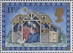Christmas 11.5p Stamp (1979) The Nativity