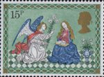 Christmas 15p Stamp (1979) The Annunciation