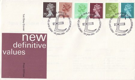 1980 Definitive First Day Cover from Collect GB Stamps