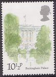London Landmarks 10.5p Stamp (1980) Buckingham Palace