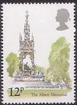 London Landmarks 12p Stamp (1980) The Albert Memorial