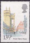 London Landmarks 13.5p Stamp (1980) Royal Opera House