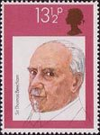 British Conductors 13.5p Stamp (1980) Sir Thomas Beecham