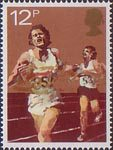 Sport 12p Stamp (1980) Athletics