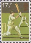 Sport 17.5p Stamp (1980) Cricket