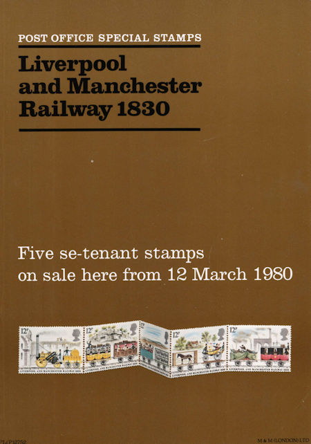 Liverpool and Manchester Railway 1830 (1980)