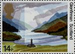 The National Trusts 14p Stamp (1981) Glenfinnan, Scotland