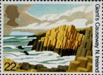 The National Trusts 22p Stamp (1981) Giant's Causeway, N. Ireland