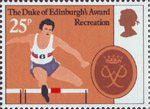 The Duke of Edinburgh's Award 25p Stamp (1981) 'Recreation'