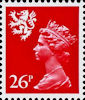 Regional Definitive - Scotland 26p Stamp (1982) Rosine