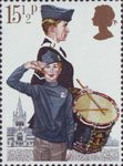Youth Organisations 15.5p Stamp (1982) Boy's Brigade