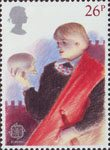 British Theatre 26p Stamp (1982) Hamlet