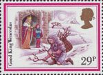 Christmas 1982 29p Stamp (1982) 'Good King Wenceslas'