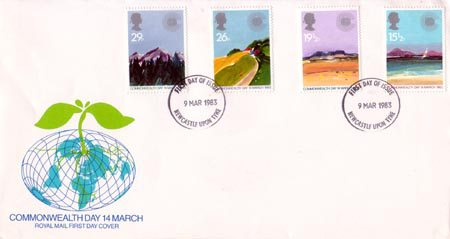 1983 Commemortaive First Day Cover from Collect GB Stamps