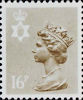 Regional Decimal Definitive - Northern Ireland 16p Stamp (1983) Drab