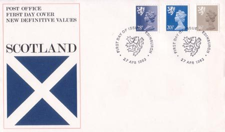 1983 Definitive First Day Cover from Collect GB Stamps