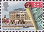Urban Renewal 28p Stamp (1984) Bush House, Bristol