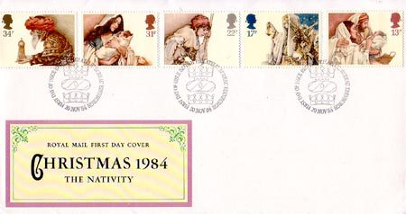 1984 Commemortaive First Day Cover from Collect GB Stamps