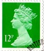 Definitive 12p Stamp (1985) Bright Emerald