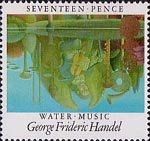 Europa. British Composers 17p Stamp (1985) 'Winter Music' by Handel