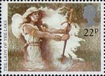 Arthurian Legends 22p Stamp (1985) The Lady of the Lake
