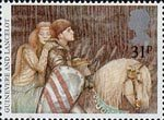 Arthurian Legends 31p Stamp (1985) Queen Guinevere and Sir Lancelot