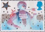 Christmas 1985 12p Stamp (1985) Principal Boy