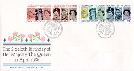 1986 Commemortaive First Day Cover from Collect GB Stamps