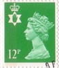 Regional Definitive - Northern Ireland 12p Stamp (1986) Bright Emerald