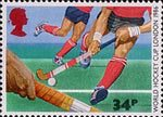 Sport 34p Stamp (1986) Hockey