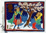Christmas 1986 12p Stamp (1986) The Glastonbury Thorn