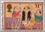 Christmas 1986 31p Stamp (1986) The Dewsbury Church Knell