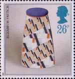 Studio Pottery 26p Stamp (1987) Pot by Elizabeth Fritsch