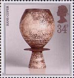 Studio Pottery 34p Stamp (1987) Pot by Hans Coper