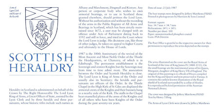 Scottish Heraldry (1987)
