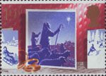 Christmas 1988 19p Stamp (1988) Shepherds and Star