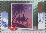 Christmas 1988 27p Stamp (1988) Three Wise Men