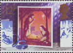 Christmas 1988 32p Stamp (1988) Nativity