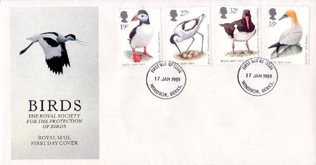 1989 Commemortaive First Day Cover from Collect GB Stamps