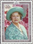 90th Birthday of Queen Elizabeth the Queen Mother 20p Stamp (1990) Queen Elizabeth the Queen Mother