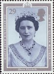 90th Birthday of Queen Elizabeth the Queen Mother 29p Stamp (1990) Queen Elizabeth