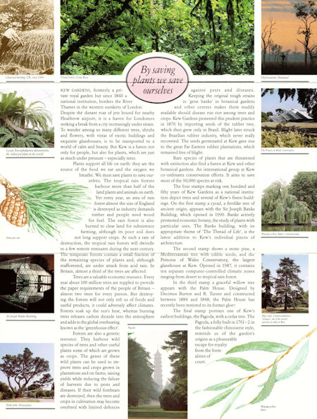 150th Anniversary of Kew Gardens (1990)