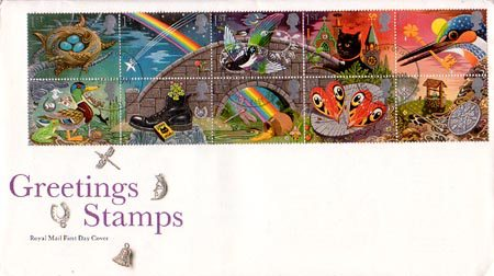 Greetings Booklet Stamps 'Good Luck' (1991)