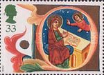 Christmas 33p Stamp (1991) The Annunciation