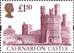 High Value Definitives �50 Stamp (1992) Caernarfon Castle