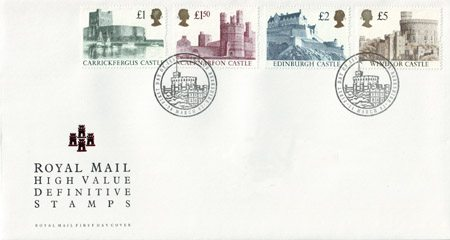 1992 Definitive First Day Cover from Collect GB Stamps