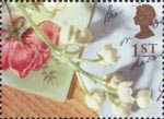 Greetings - Memories 1st Stamp (1992) Flower Spray
