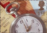 Greetings - Memories 1st Stamp (1992) Pocket Watch