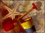 Greetings - Memories 1st Stamp (1992) Bucket, Spade and Starfish